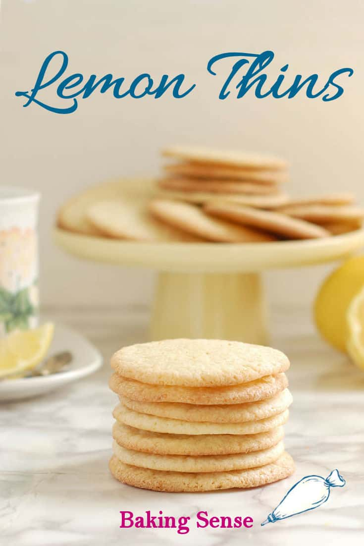 This is a lovely and simple little cookie. As the name suggests, Lemon Thin Cookies are crisp, thin and lightly lemony. They are the perfect tea-time or snack-time treat. #cookie #lemon #lemonthin #crisp #easy #best