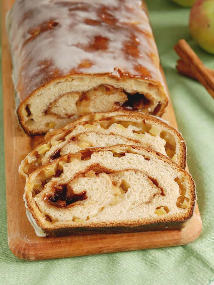 Apple Cinnamon Swirl Bread Baking Sense