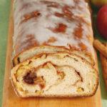 fresh apple cinnamon swirl bread