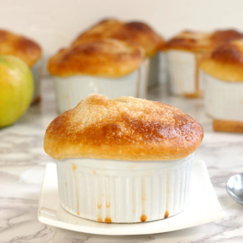 Apple Bourbon Pot Pie
