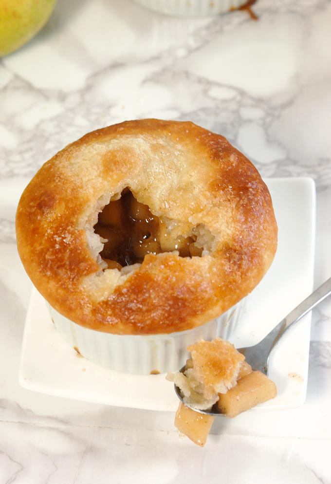 apple bourbon pot pie