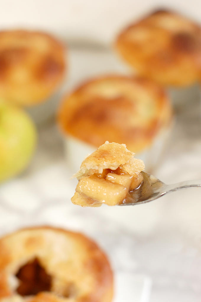 a taste of apple bourbon pot pie