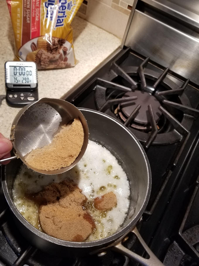 how to make brown sugar toffee