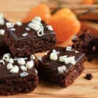 three habanero brownies