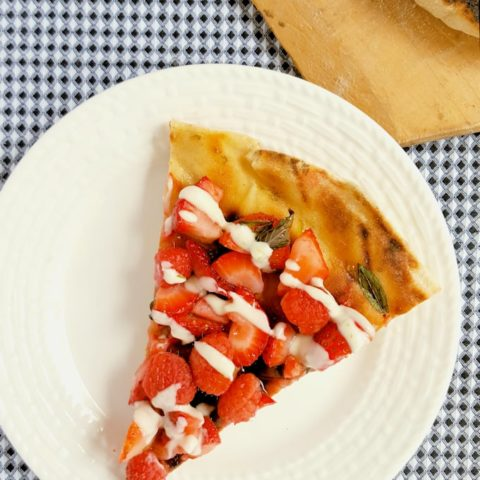 Grilled Dessert Pizza #SundaySupper