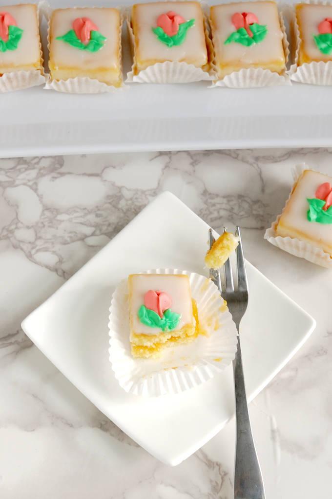 classic almond petit fours