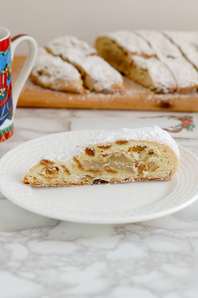 almond filled stollen