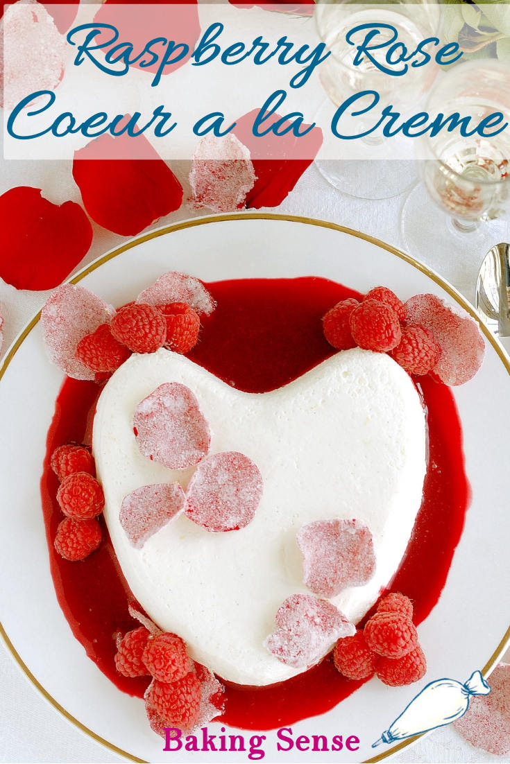 """Coeur a la Creme must be the world's most romantic dessert! This classic treat is luscious, beautiful, and definitely meant to be eaten from oneplate with two spoons.I mean, just the name (said with your best French accent) says """"romance""""."""