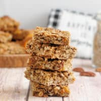 Sunflower, Pecan & Apricot Granola Bars