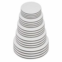 Cake Boards Circles Variety Pack - 6 Inch, 8 Inch, 10 Inch, 12 Inch, 14 Inch, 4 of Each Size - White Cake Board Cardboard Bases Multi Pack