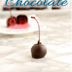 a pinterest image for how to temper chocolate