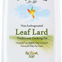 Proper Foods Leaf Lard, Non-Hydrogenated, Cooking & Baking, 16 oz Tub