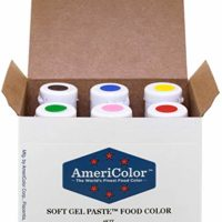 AmeriColor Basic Six Gel Food Color
