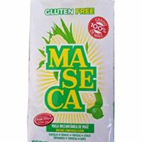 White Maseca Corn Flour Gluten Free 2 Kg 4.4 lb Mexican cooking