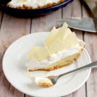 Malted Milk Cream Pie