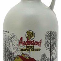 Anderson's Pure Maple Syrup, Grade A Very Dark/Grade B, 32 Ounce