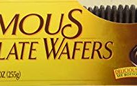 Nabisco, Famous Chocolate Wafers, 9oz Container (Pack of 2)