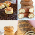 a pinterest image for sourdough recipes