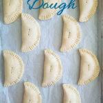 a pinterest image for hand pie dough