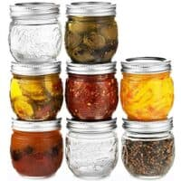 Ball Jars 8 oz, Set of 8