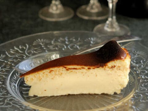 San Sebastian Cheesecake Baking Sense
