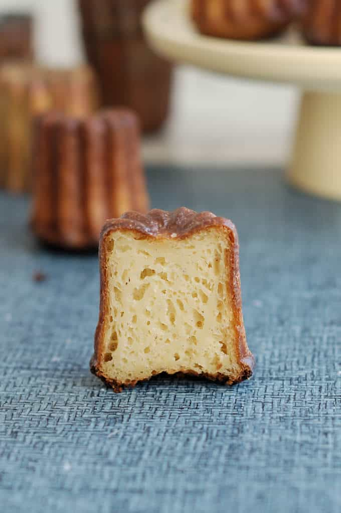 interior view of a french caneles
