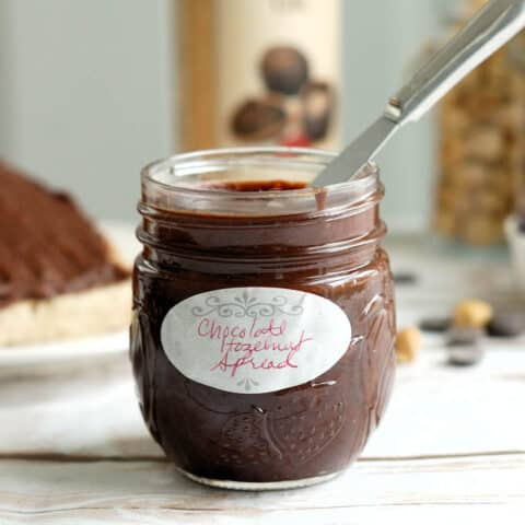 Homemade Nutella - Chocolate Hazelnut Spread
