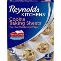 Reynolds Non-Stick Parchment Paper, 25 Sheet, 4 Count (100 Total)