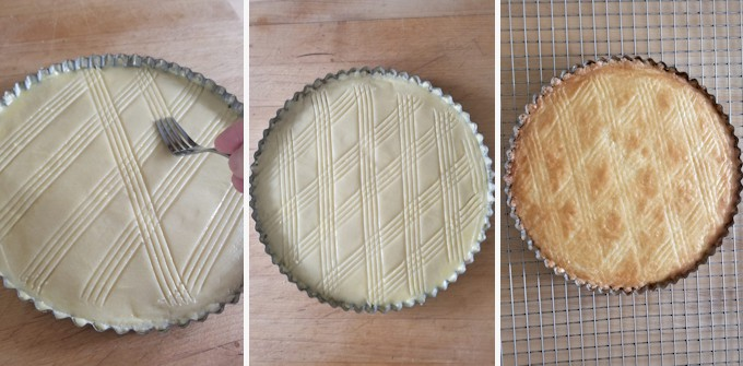 photos showing how to decorate and bake dutch butter cake