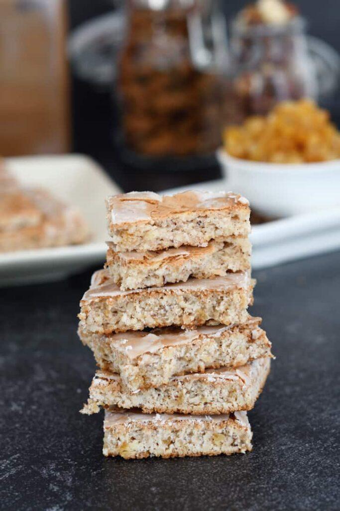 a stack of lebkuchen