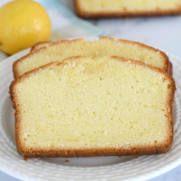 Triple Lemon Yogurt Pound Cake